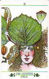Das Baum Tarot - Alder - II High Priestess